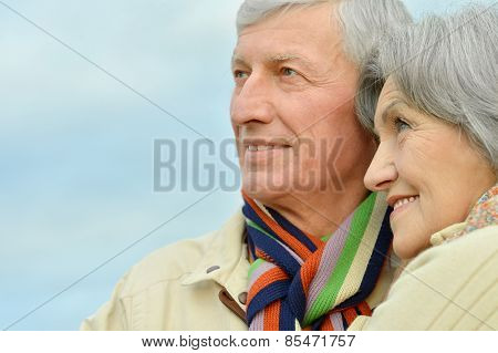 Beautiful senior couple