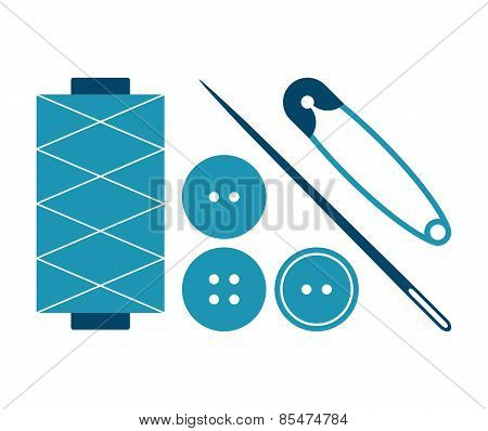 Sewing Equipment And Needlework Set