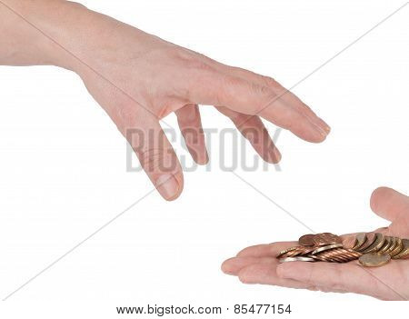 Take some money