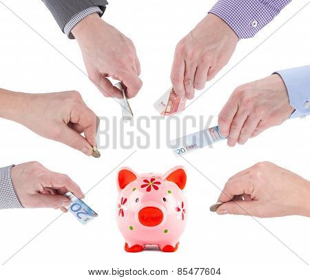 Crowdfunding Piggybank