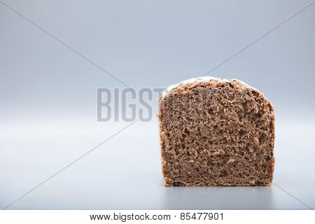 Granary Bread On Gray Background