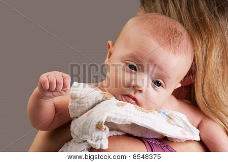 Little Baby Girl Toddler Gesturing