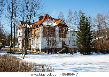 Villa Built For Dr. Rozycki In 1913 In Zakopane