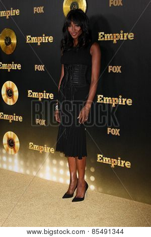 LOS ANGELES - JAN 6:  Naomi Campbell at the FOX TV