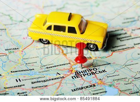 Dnepropetrovsk  ,ukraine Russia Taxi