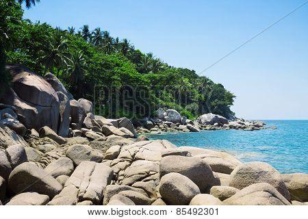 Beautiful Coast Of The Andaman Sea