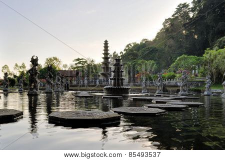 Water Palace of Tirta Gangga, Bali, Indonesia