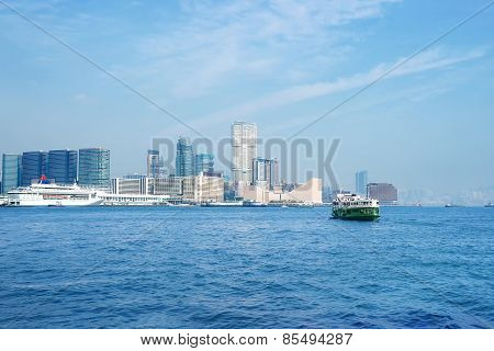 Hong Kong Bay And Skyline