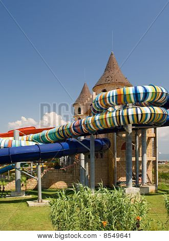 Water Park In The Open Air