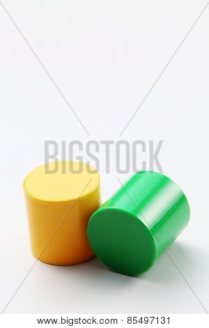 cylinder shape of the building block