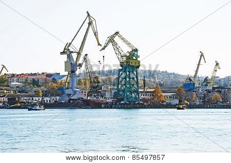 Sea Port Of Sevastopol