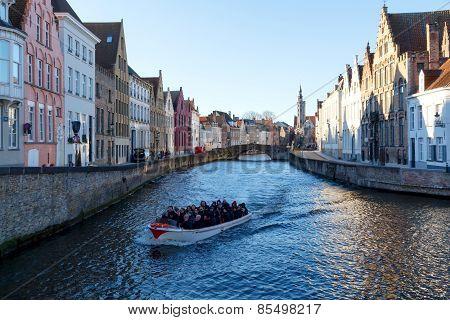 Canal Spiegel Rei, Bruges.