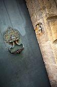 pic of bordeaux  - Door knocker of an old house in Bordeaux France - JPG