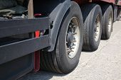 stock photo of big-rig  - Truck trailer - JPG
