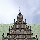 Bremen Medieval Town Hall Detail poster