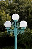 picture of lamp post  - Street lamp post - JPG