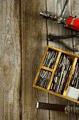pic of chisel  - Old working tools - JPG