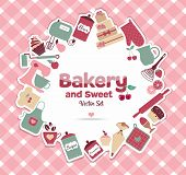 pic of cake-mixer  - Bakery and sweet illustration - JPG