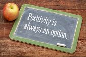 image of red barn  - Positivity is always an option  - JPG