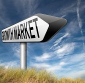image of economy  - growth market economy growing emerging economies in developing countries  - JPG