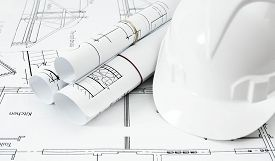 foto of draft  - Planning of construction of the house - JPG