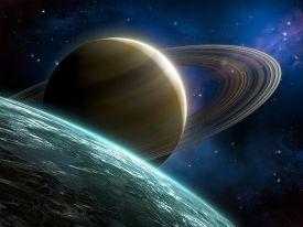 foto of planetarium  - Spacescape 2 - JPG