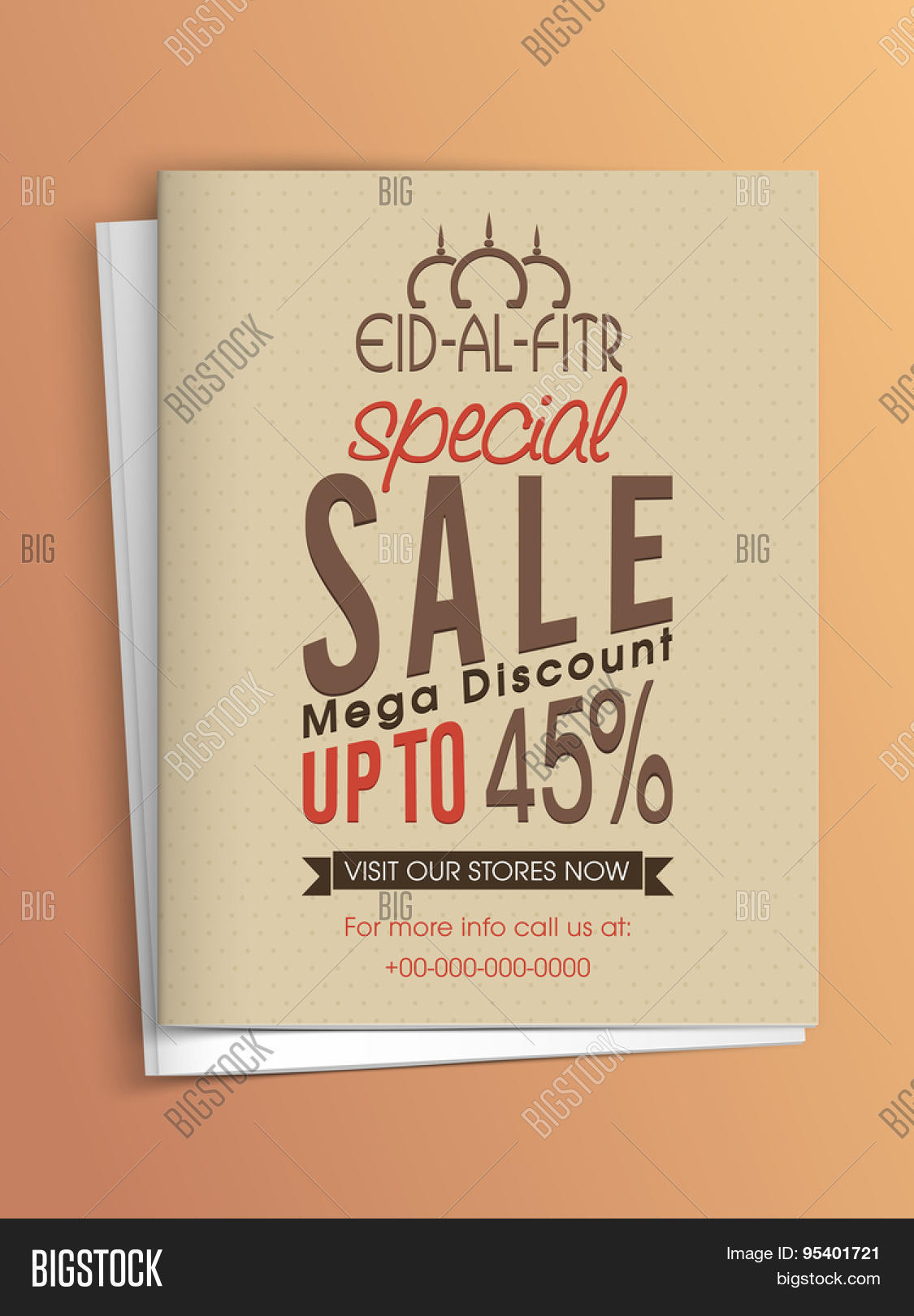 special banner flyer or template super discount offer special banner flyer or template super discount offer and envelope for muslim community