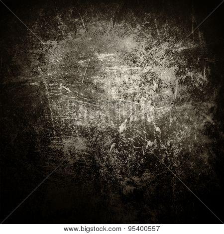 Grey grunge textured wall.