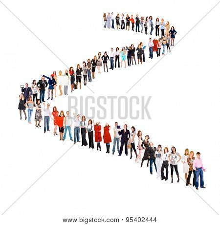 Together we Stand Very Long Line