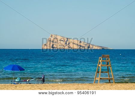 Benidorm Beach And Island