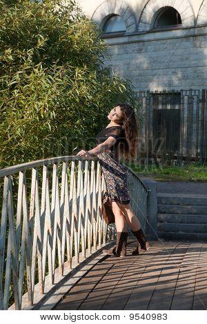 The Girl At A Bridge