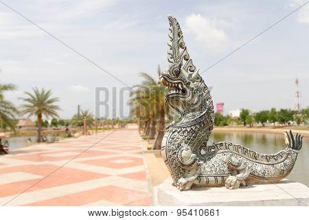 Naga or serpent