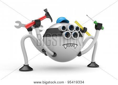 Robot spider - handyman