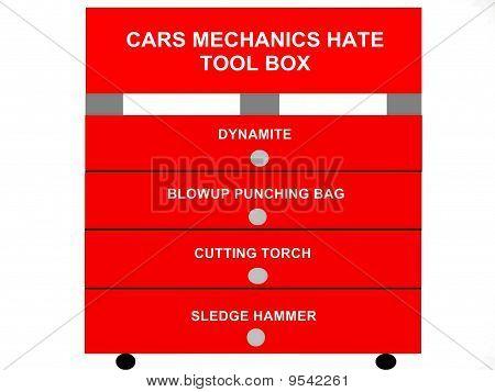 Autos Mechanics Hate Tool Box Concept