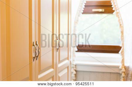 Wooden cupboard