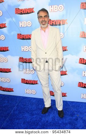LOS ANGELES - JUN 8: Roberto Benabib at the Premiere of HBO's 'The Brink' at the Paramount Theater at Paramount Studios on June 8, 2015 in Los Angeles, CA