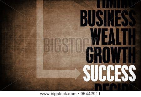 Success Core Principles as a Concept Abstract