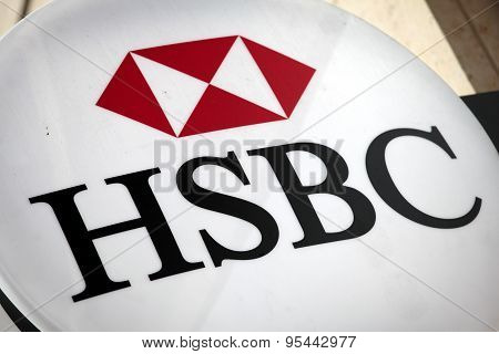 Hsbc Bank Sign London