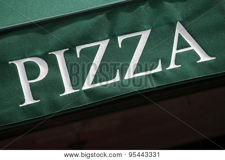 Pizza Restaurant Canopy