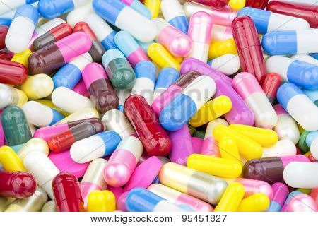 Pills, Capsule, Capsules, Medication, Health, Tablets, Pharmaceutical, Background, Medicine, Colorfu