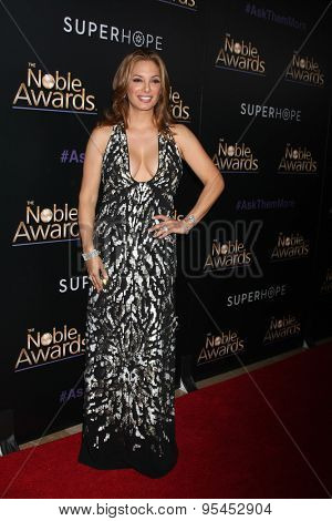 LOS ANGELES - FEB 27:  Alex Meneses at the Noble Awards at the Beverly Hilton Hotel on February 27, 2015 in Beverly Hills, CA
