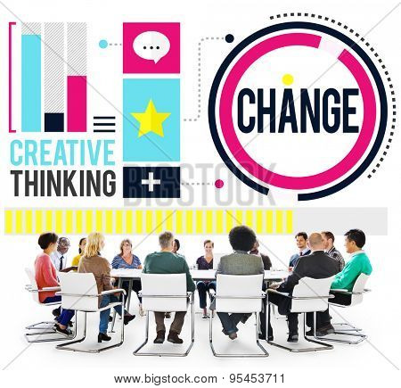 Change Improvement Development Adapting Revolution Concept