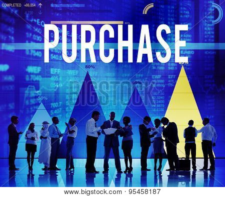 Purchase Buying Shopping Spending Sale Concept