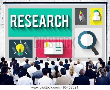 Research Inforamtion Knowledge Discovery Education Concept