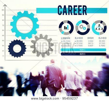Career Occupation Job Employment Hiring Concept