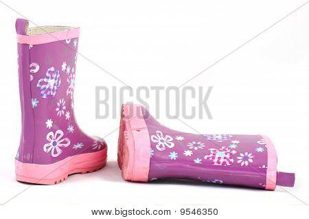 small rain boots