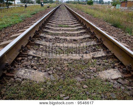 Rails And Cross Ties