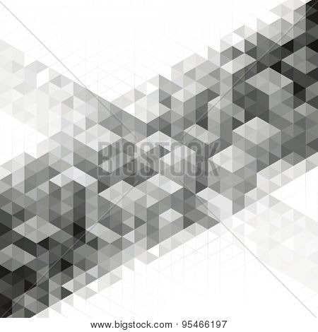 Abstract modern geometric urban design background.