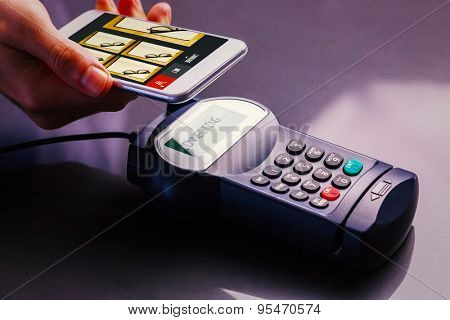 Website design against mobile payment