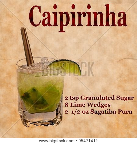Caipirinha Recipe